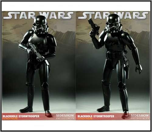 Star Wars Sideshow Collectibles Exclusive 12 Inch Action Figure Blackhole Stormtrooper