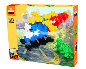 PLUS PLUS BIG - Open Play Set - 150 Piece - Basic Color Mix, Construction Building Stem / Steam Toy, Interlocking Large Puzzle Blocks for Toddlers and Preschool