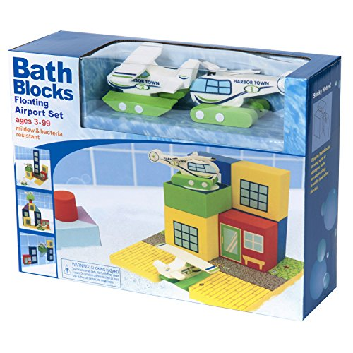 BathBlocks Floating Airport Set in Gift Box
