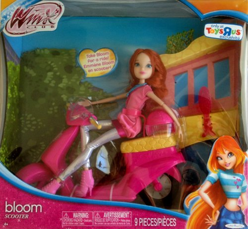 Winx Club Bloom Doll With Scooter