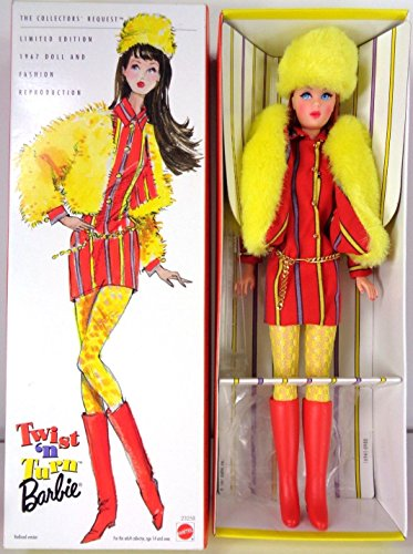 Barbie Twist N' Turn The Collectors' Request - Limited Edition 1967 Doll an...