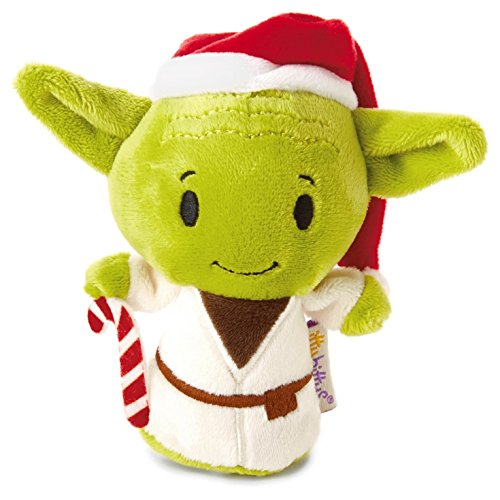 Hallmark itty bittys Star Wars Holiday Yoda Stuffed Animal