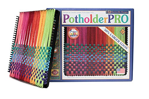 Harrisville Designs Friendly Loom Potholder Cotton Loops 10
