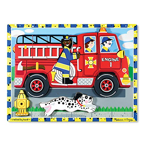 Melissa and Doug Fire Truck Chunky Puzzle