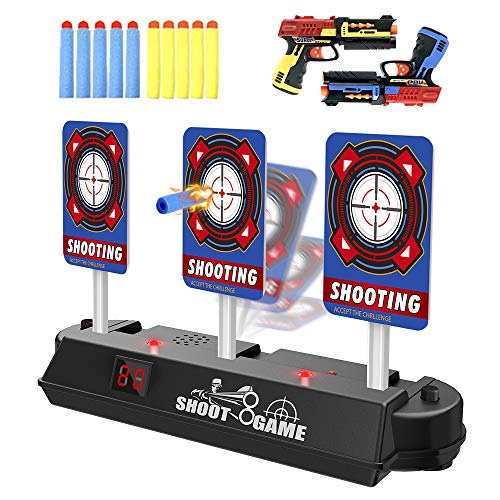 HOMILY Digital Target Compatible for Nerf Guns Rival/Blaster/Mega/Jolt