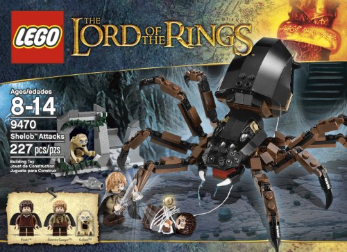 LEGO The Lord of the Rings Hobbit Shelob Attacks (9470)
