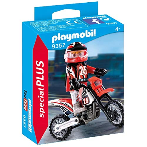 PLAYMOBIL� Special Plus 9357 Motocross Driver