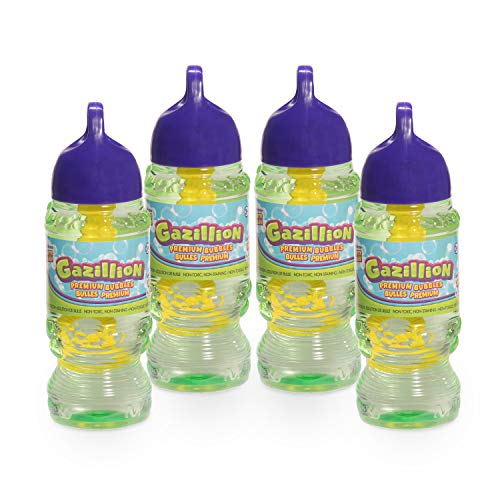 Gazillion Bubbles Solution 10 oz. 4 Pack, Green (36493)