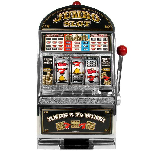 RecZone Jumbo Slot Machine Bank - Replication