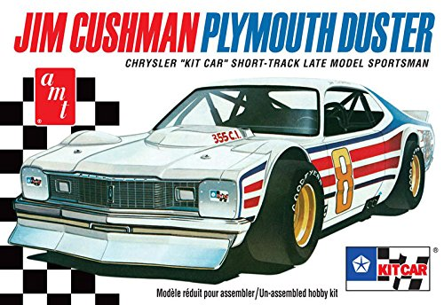 AMT AMT924 1:25 Scale Jim Cushman's Plymouth Duster Short Track Car Model Kit