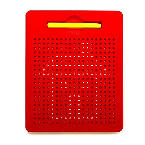 Cretee Letters & Number Magnet Board for Kids Educational Toy Magnetic Balls Tablet (Draw)