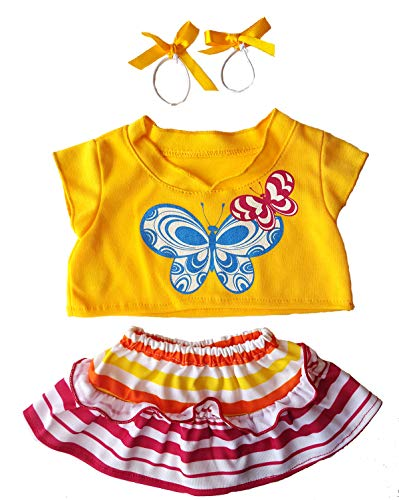 Butterfly Costume Outfit Teddy Bear Clothes Fits Most 14