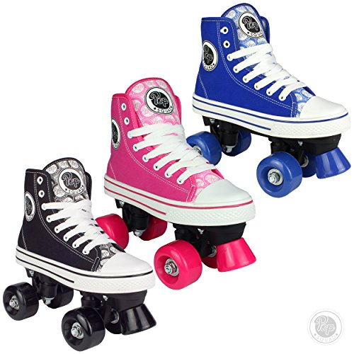Pop Squad Midtown Girl's and Boy's Roller Skates - Pink (3)
