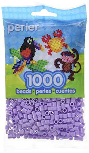 Perler Beads Fuse Beads for Crafts, 1000pcs, Lavender Purple