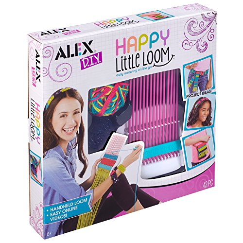 Alex DIY Happy Little Loom Kit Kids Art and Craft Activity