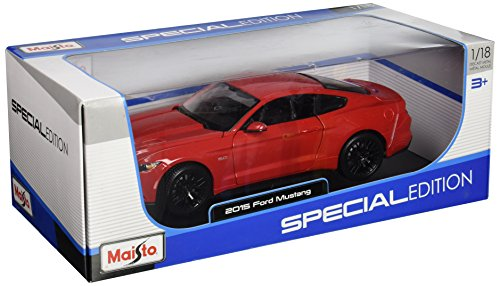 Maisto 31197RD 1:18 Special Edition 2015 Ford Mustang Diecast Vehicles
