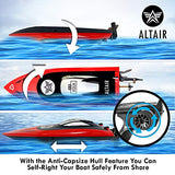 Altair Aqua [Ultra Fast Pro Caliber] RC Boat for Pools or Lakes, Adults & Kids - FREE PRIORITY SHIPPING - CSP Child Safe Remote Control Boat, Self Righting, 2 Batteries, 30 km/h, (Lincoln, NE Company)