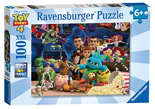 Ravensburger 10408 Disney Pixar Toy Story 4 - 100 Piece Jigsaw Puzzle for Kids - Every Piece is Unique - Pieces Fit Together Perfectly,Multicoloured
