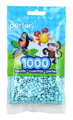 Perler Toothpaste Green Beads for Kids Crafts, 1000 pcs