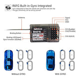 Radiolink RC4GS 2.4G 4CH RC Transmitter and Receiver R6FG Gyro Radio Remote Controller for Car Boat Crawler