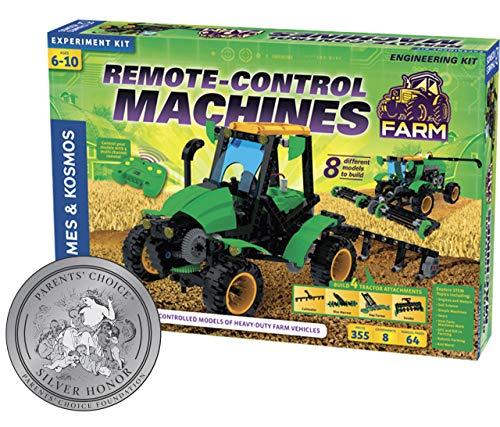 Thames & Kosmos 620381 Remote Control Machines: Farm Science Experiment Kit