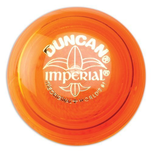 Duncan Genuine Imperial Yo-Yo Classic Toy - Orange