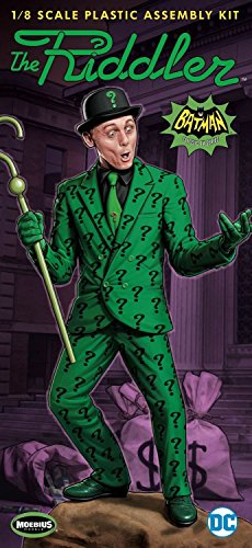 Moebius Models Batman 1966 TV Riddler 1:8 Scale Model Kit