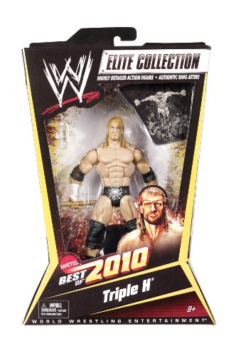 WWE Elite Collection Triple H Figure Best of 2010 Series