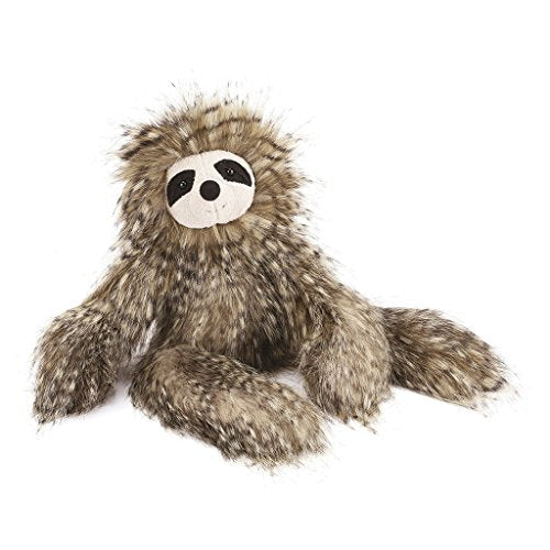 Jellycat Mad Pet Cyril Sloth Stuffed Animal, 16 inches