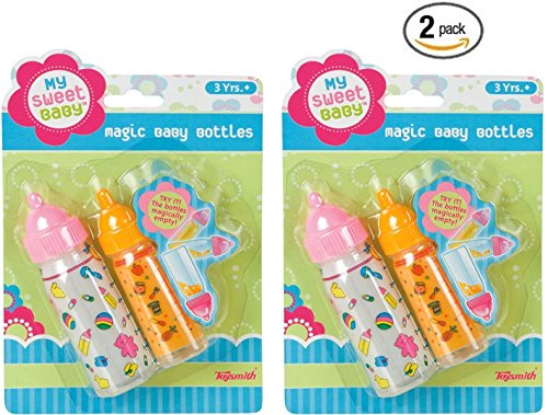Pretend Play Magic Baby Bottles (Set of 2)