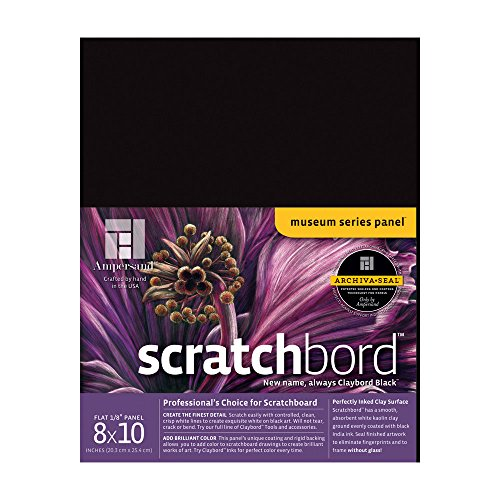Ampersand Scratchbord 8 in. x 10 in. each