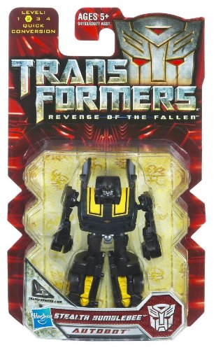 Transformers 2 Revenge of the Fallen Movie Hasbro Legends 2010 Series 1 Mini Action Figure Stealth Bumblebee