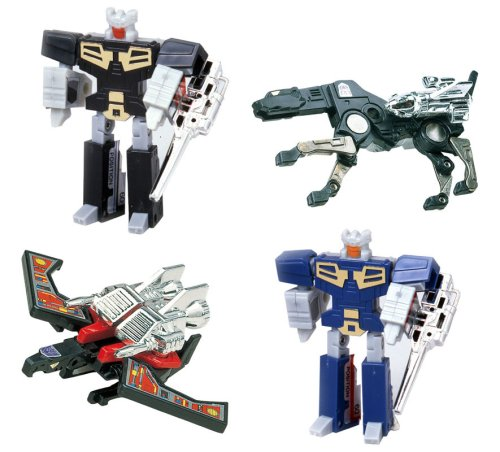 Transformers Japanese Tomy Takara Re-Issue Renewal Encore #15 Cassette Set (Eject, Rewind, Ravage and Laserbeak)