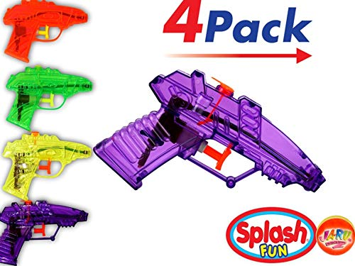 Water Guns (4 units in 1 Pack)| Toy Squirt Gun| Item #858-1p