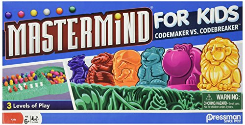 Mastermind for Kids -- Codebreaking Game Plays on Three Levels