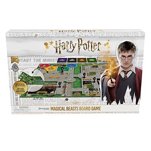 Pressman Harry Potter Magical Beasts Game