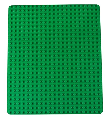 Strictly Briks Classic Big Briks Baseplate 100% Compatible with All Major Brands | Large Pegs for Toddlers | 13.75