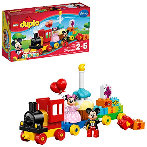 LEGO DUPLO Disney Mickey Mouse Clubhouse Mickey & Minnie Birthday Parade 10597 Disney Toy (24 Pieces)