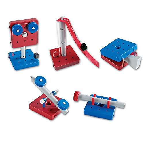 Learning Resources Simple Machines, STEM, Early Engineering Toy Set of 5