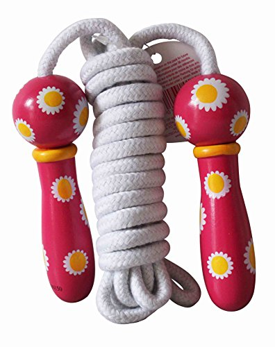 House of Marbles Flowers Wooden Jump Rope