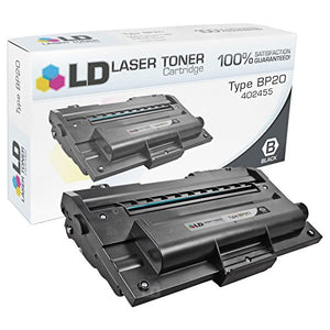 LD Compatible Toner Cartridge Replacement for Ricoh 402455 Type BP20 (Black)