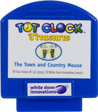 Tot Clock Treasures: Hare & Tortoise + Town Mouse & Country Mouse (Compatible with New & Improved Tot Clock only)