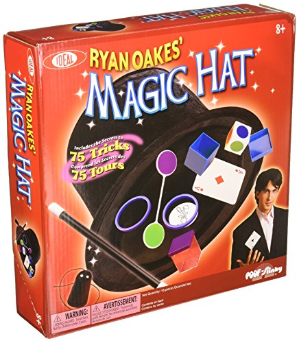 Ideal Ryan Oakes' Magic Hat 75 Tricks Kids Magic Set