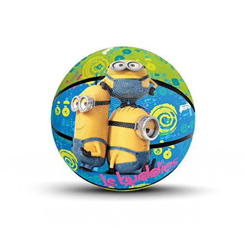 Hedstrom Minions Jr. Rubber Basketball, 7 Inch