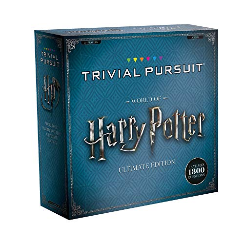 USAOPOLY Trivial Pursuit World of Harry Potter Ultimate Edition | Trivia Board Game Based On Harry Potter Films | Officially Licensed Harry Potter Game