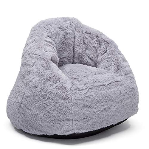 Delta Children Snug Foam Filled Chair, Grey, Toddler