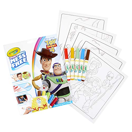 Crayola 75-7008 Wonder Toy Story Coloring Pages, Mess Free, Gift for Kids