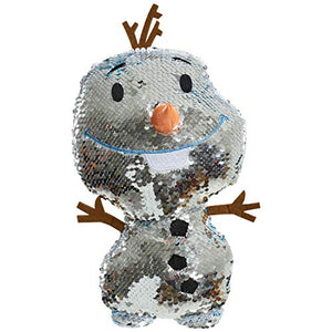 Disney Frozen 2 Reversible Sequins Large Plush Olaf