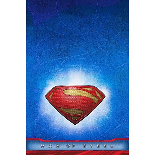 Hallmark Superman Man of Steel Table Cover