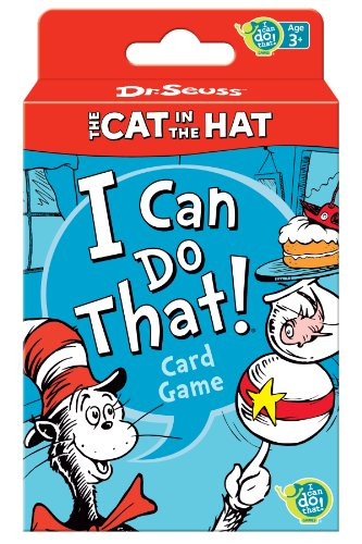 Wonder Forge Dr. Seuss Cat in The Hat Card Game